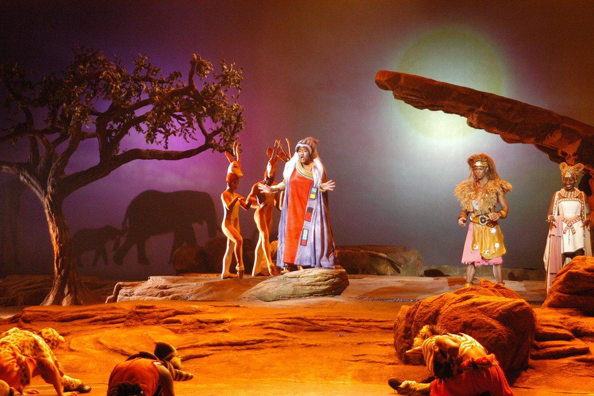 """Show-""""König der Löwen"""", """"Disneyland"""", """"Disneyland Resort Paris"""", Paris, Frankreich, Europa, 18.11.2006, (Photo by Peter Bischoff/Getty Images)"""