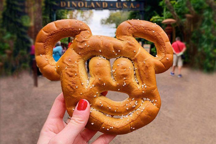 mickey mouse pretzel disney