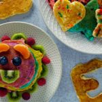 How to Make a Fun, Colorful Pancake Recipe for Kids