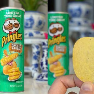 The New Sweet Corn Pringles Taste JUST Like Buttered Corn on the Cob