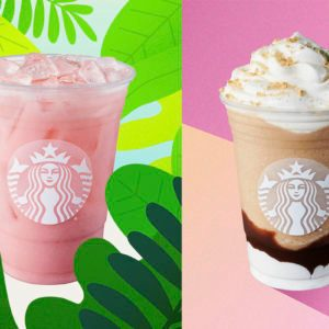 Starbucks Has an All-New Pink Drink—and the S'Mores Frappuccino Is BACK