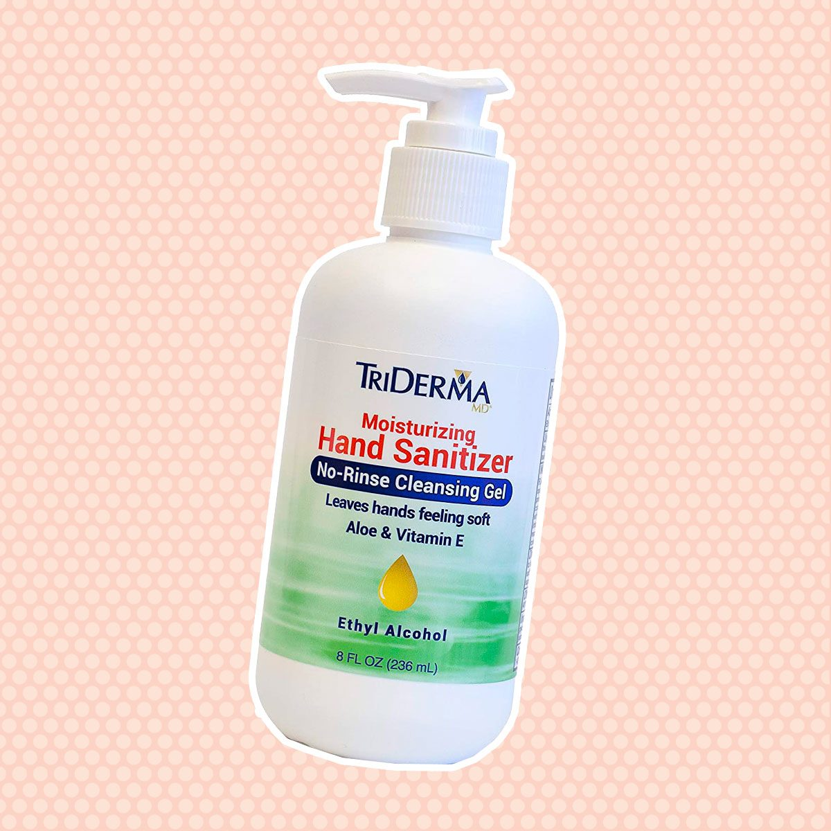 Moisturizing Hand Sanitizer 62% Ethyl Alcohol (8oz)