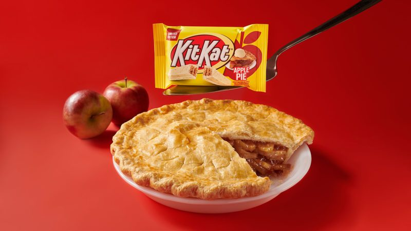 Apple Pie Kit Kats