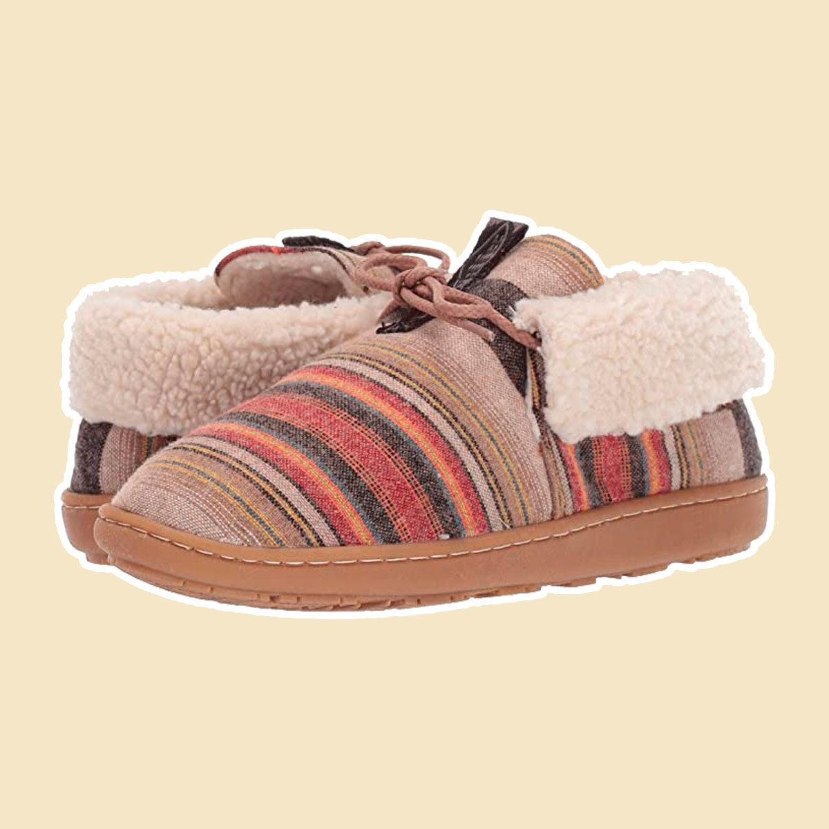 Cabin Chic slippers
