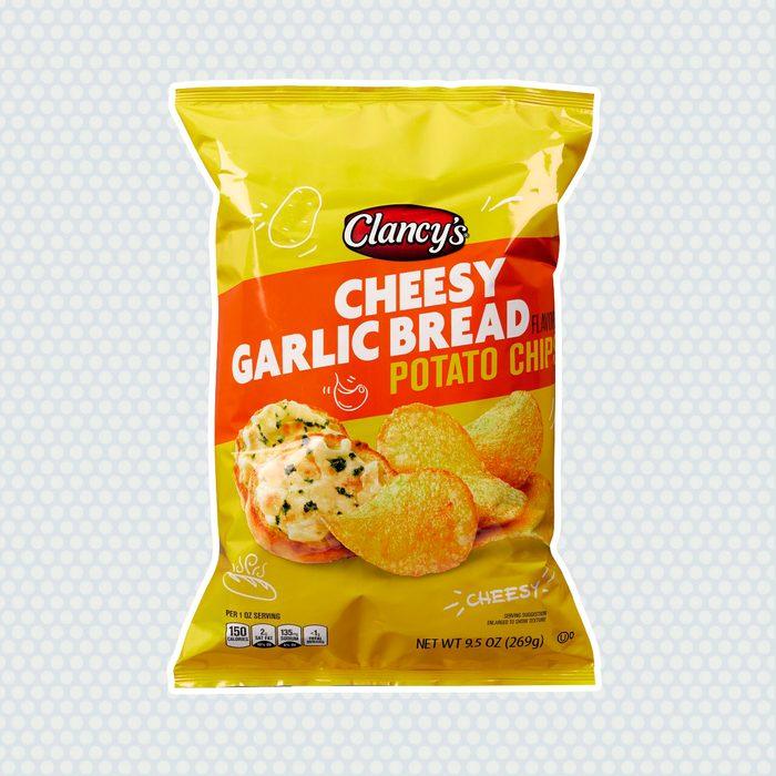 Clancys Cheesy Garlic Bread Potato Chips
