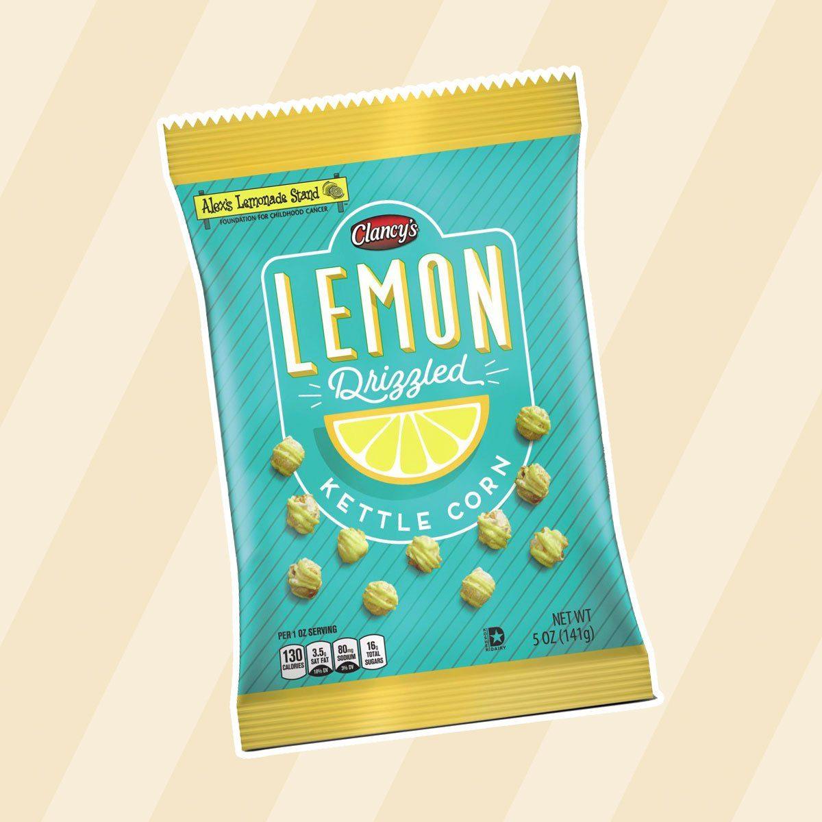Lemon-drizzled kettle corn