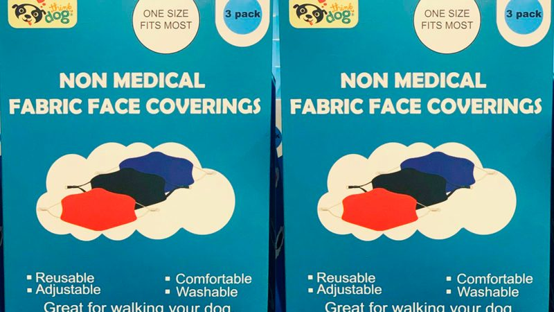 Costco fabric facemasks side by side