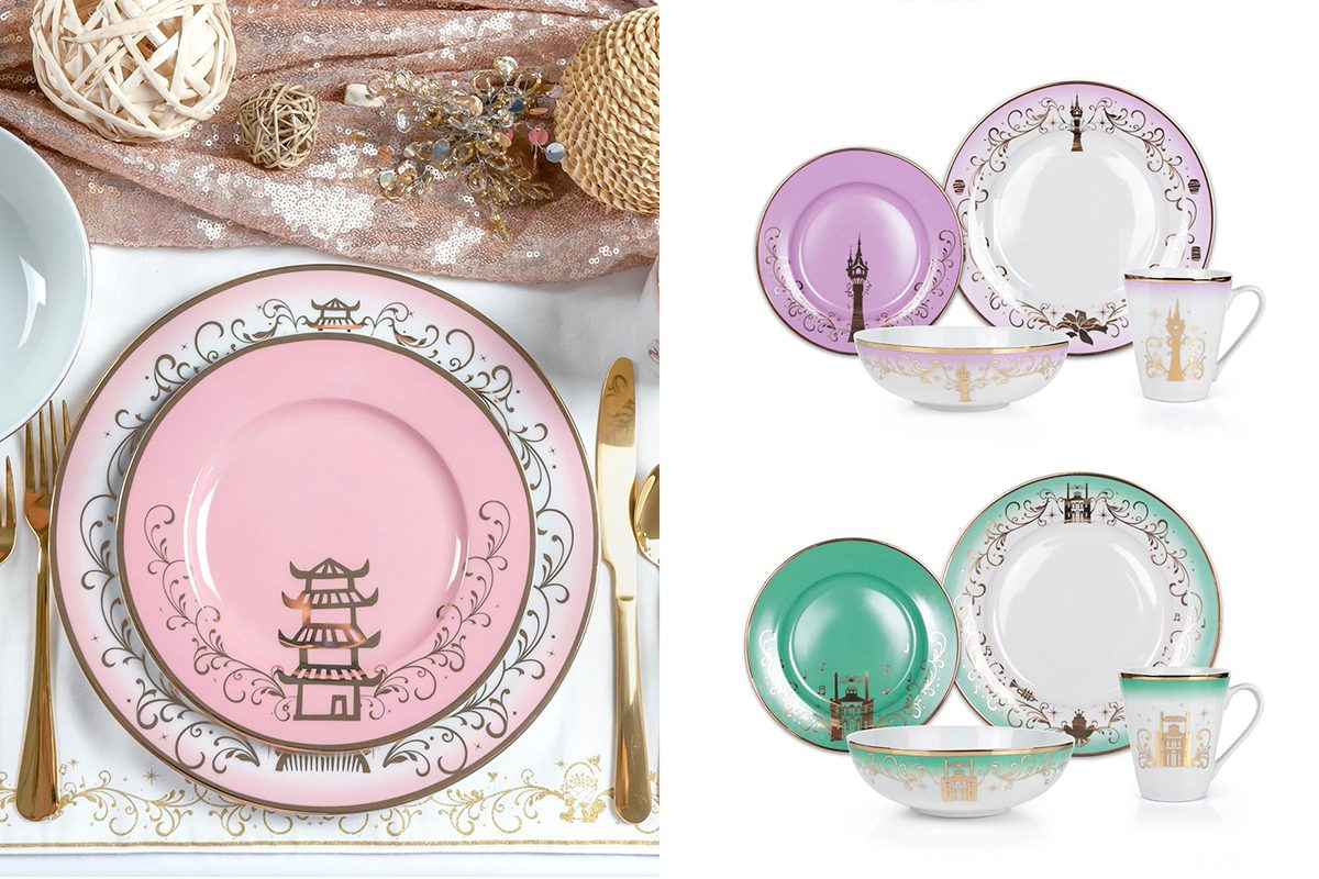 The Disney Princess Dinnerware Collection