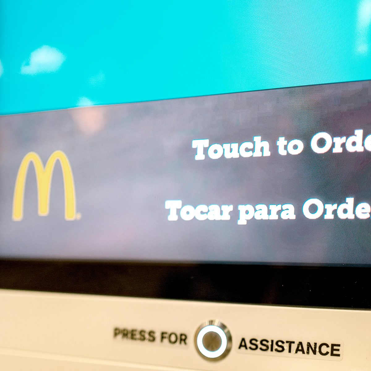 McDonald's Touch-screens
