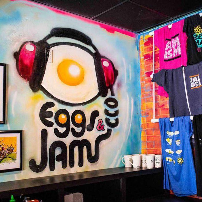 Eggs and Jam restaurant