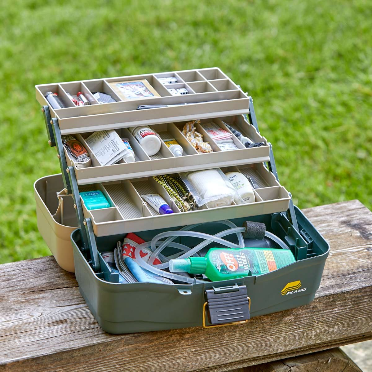 HH utility tackle box camping supplies