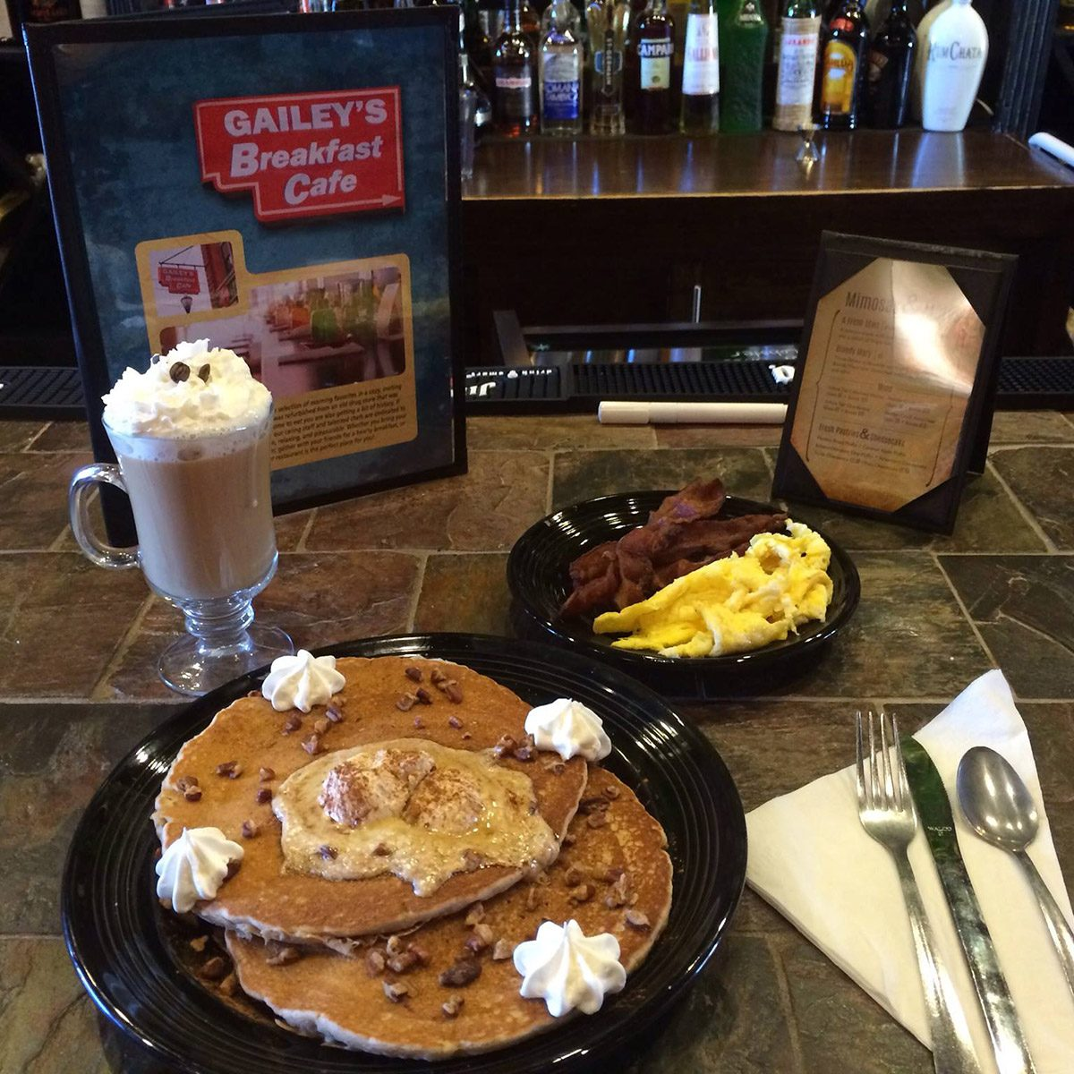 Gailey's Breakfast Cafe, Springfield pancakes