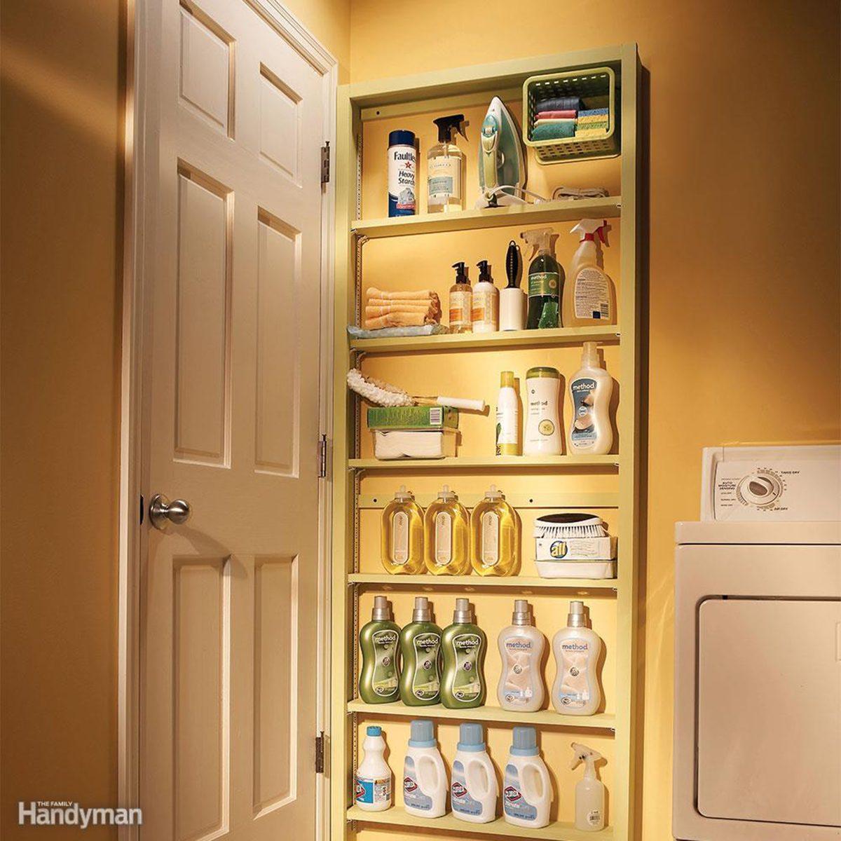 Behind-the-Door Storage
