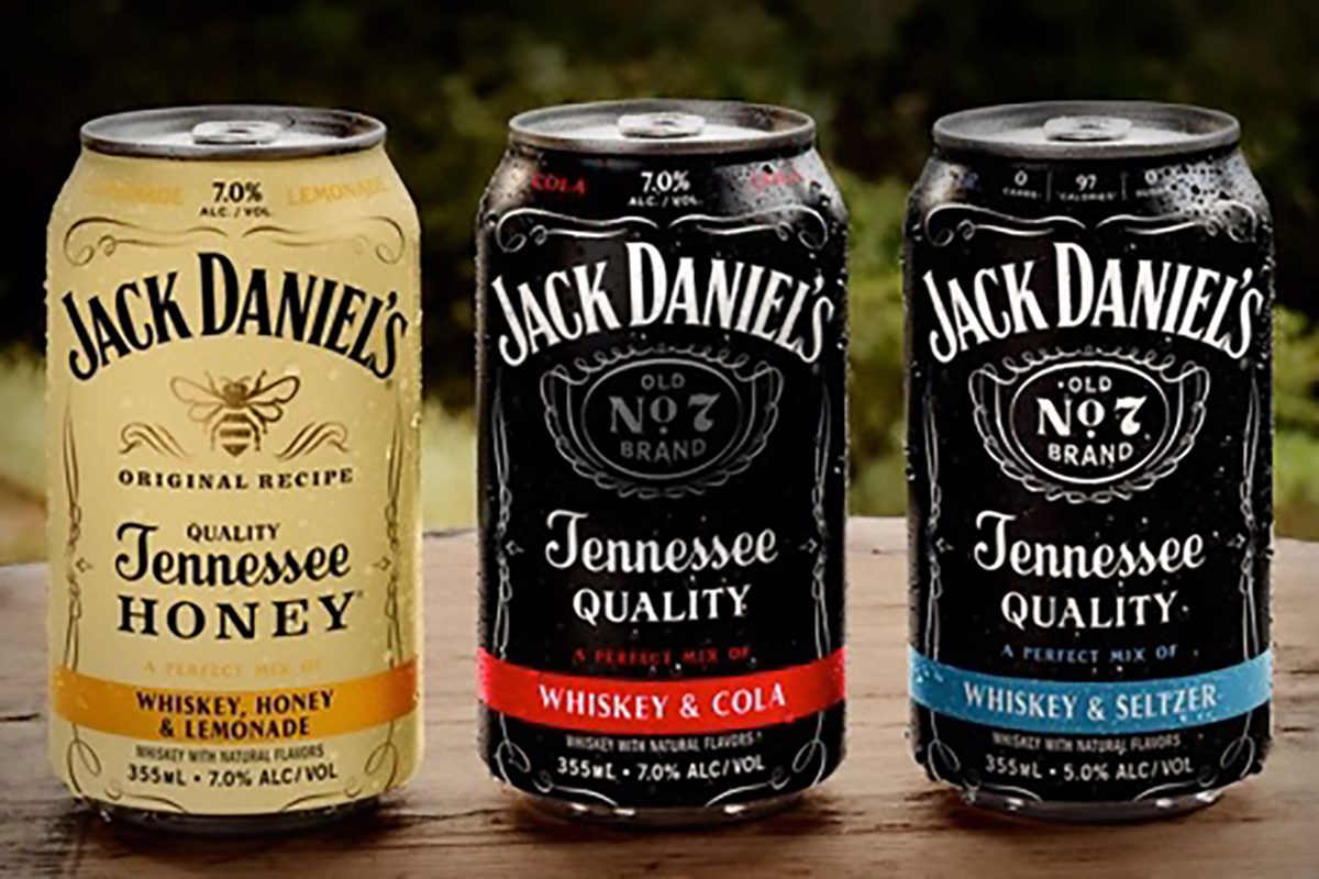 Jack Daniel S Just Dropped A Brand New Line Of Canned Cocktails