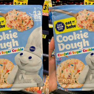 Pillsbury Is Now Making Confetti Sugar Cookie Dough That's Safe to Eat Raw