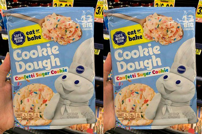 Pillsbury New confetti cookie dough