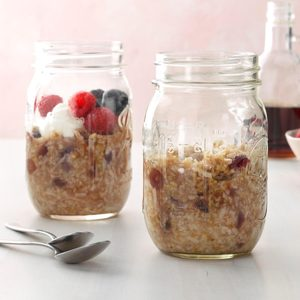 Pressure-Cooker Steel-Cut Oats and Berries