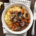 Pressure-Cooker Wine-Braised Beef Shanks