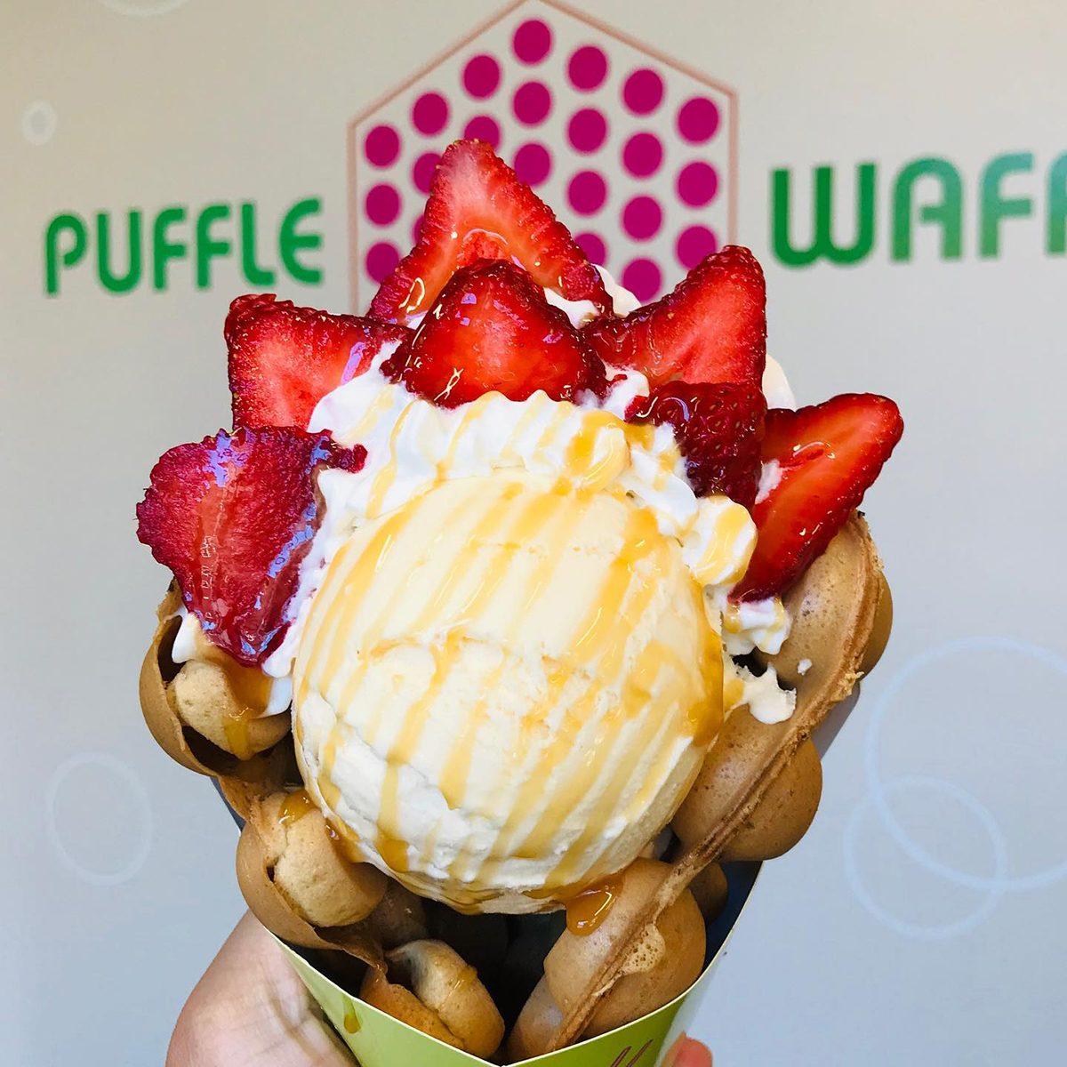 Puffle Waffle PDX restaurant