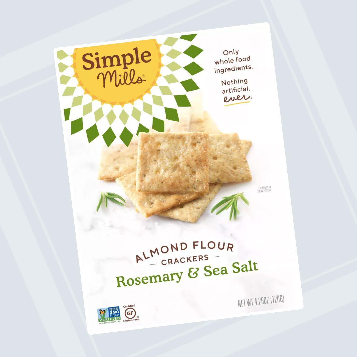 Simple Mills Rosemary Crackers