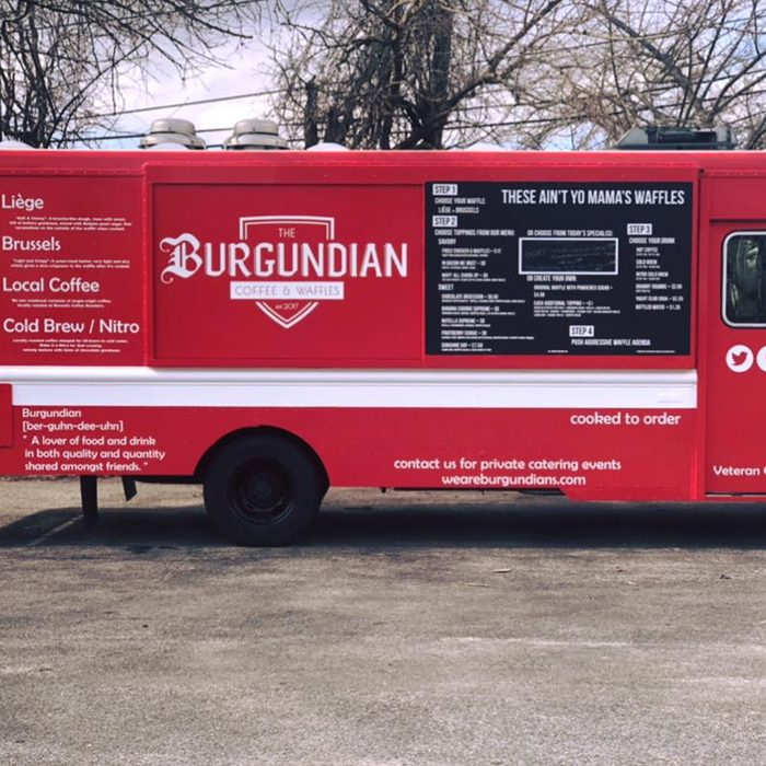 The Burgundian: Coffee and Waffles