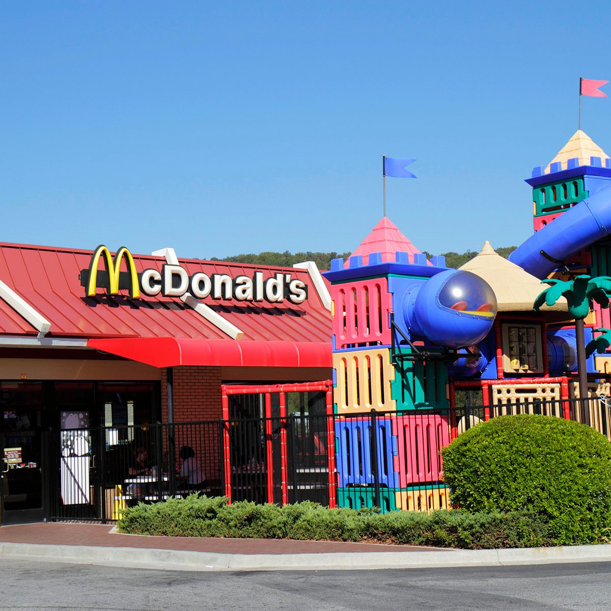 McDonald's with a play area
