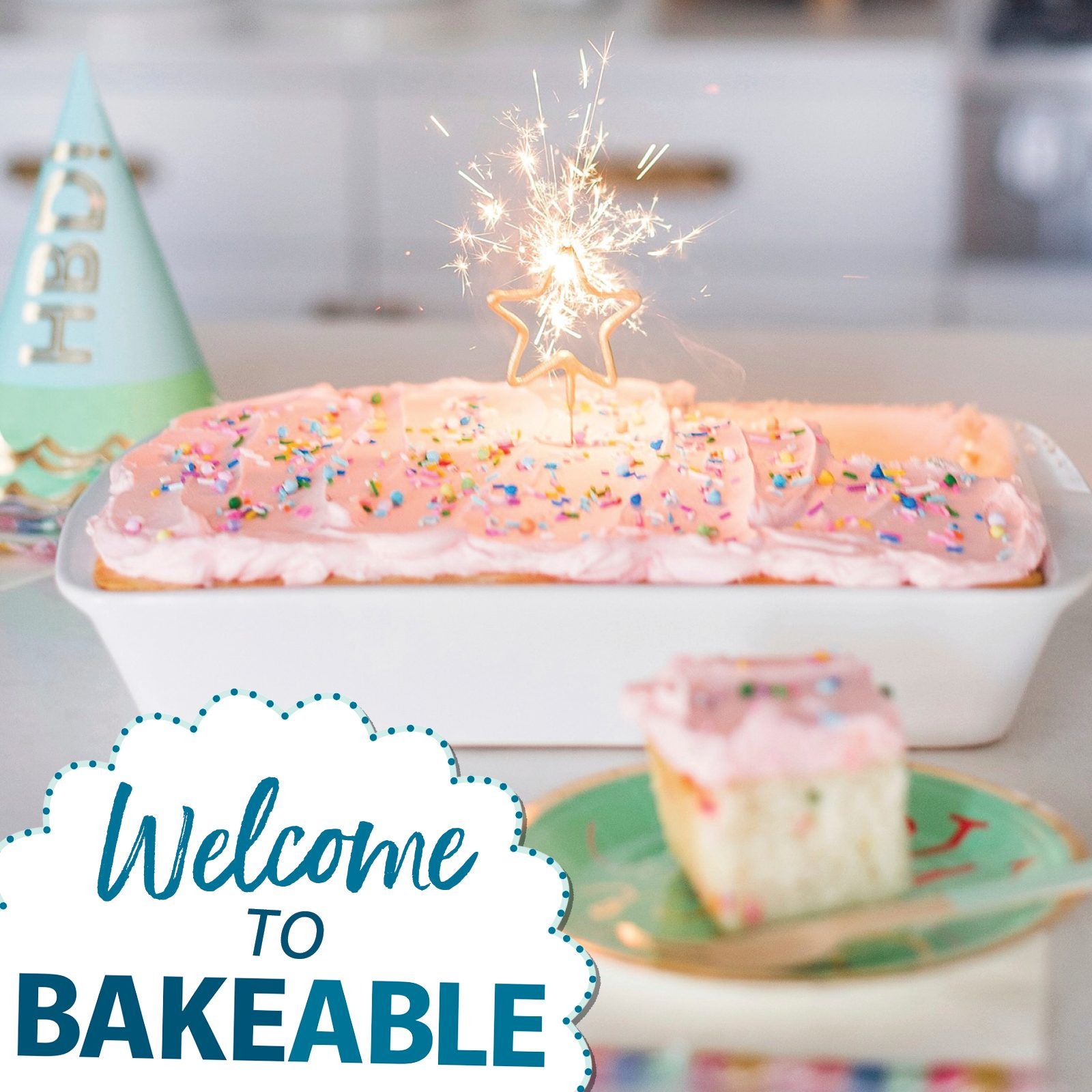 welcome to bakeable june cake