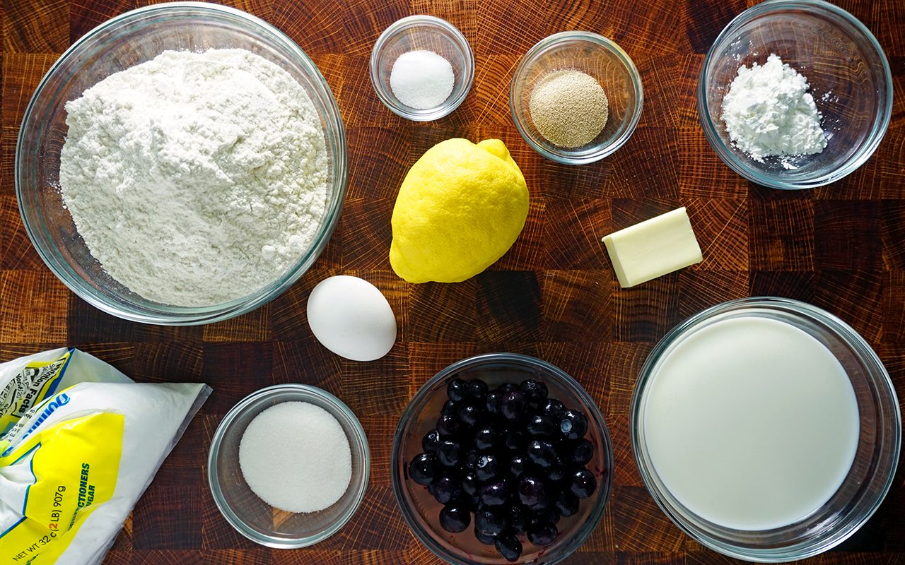 magnolia press blueberry sweet roll ingredients