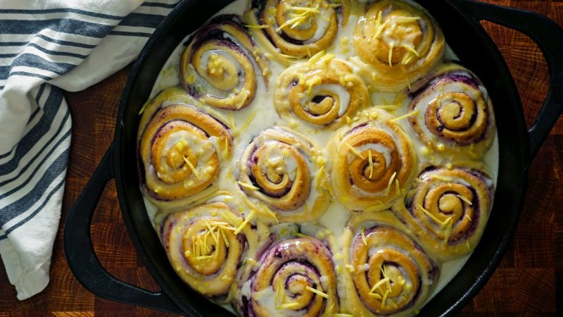 Joanna Gaines' Blueberry Sweet Rolls