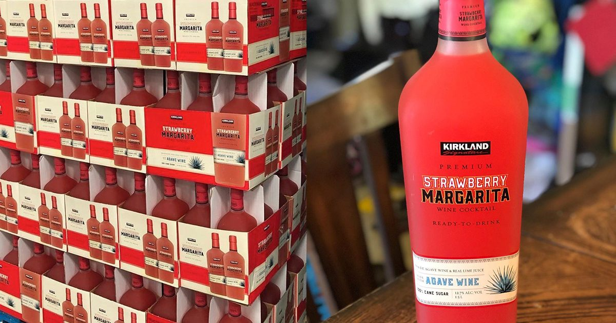 Costco Is Selling Giant Ready To Drink Strawberry Margaritas Right Now