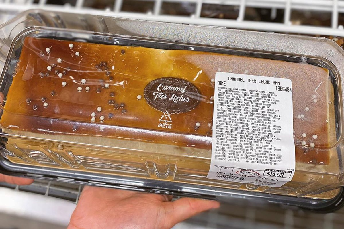 Giant Tres Leches bar from Costco