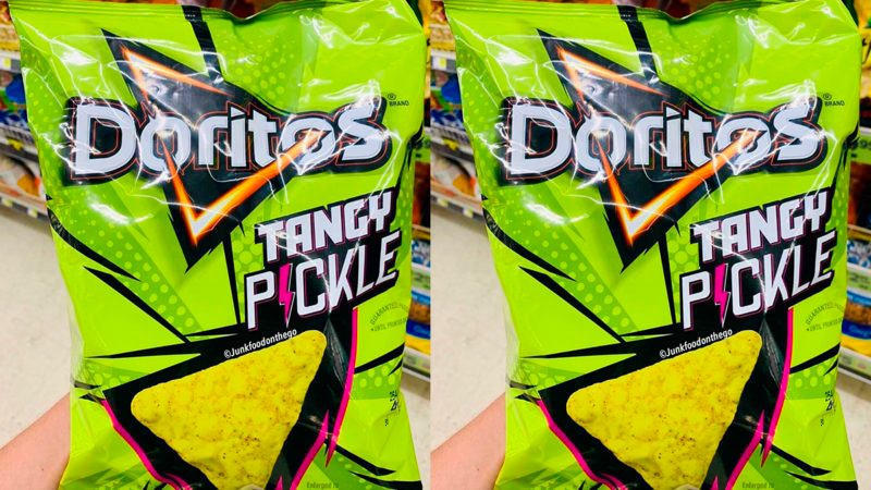 Doritos new Tangy Pickle flavor
