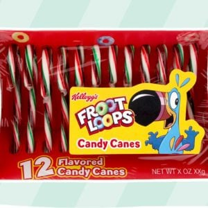 Brand-New Froot Loops Candy Canes Will Be Here for Christmas 2020