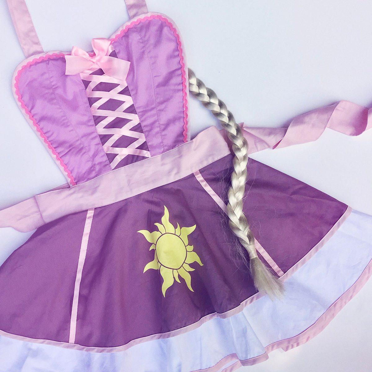 Princess Apron, Rapunzel (inspired)