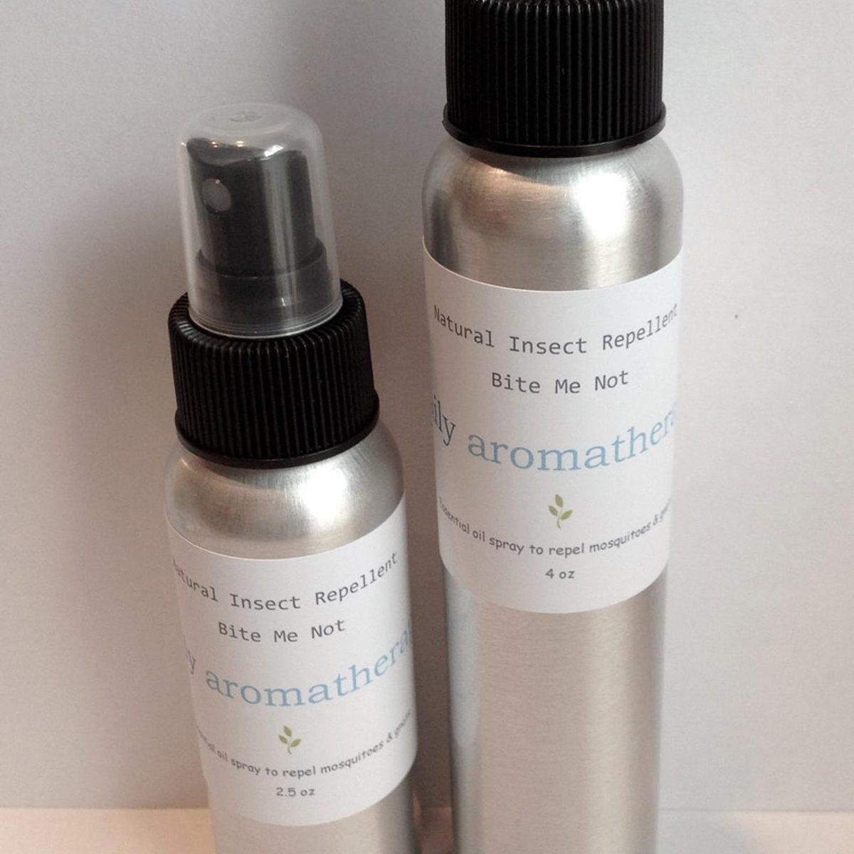 Bite Me Not -- Cinnamon Scented Natural Insect Repellent -- Cedarwood, Lemongrass, Citronella, Cinnamon Bark, Eucalyptus