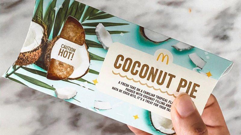 Mcdonald's new coconut pie