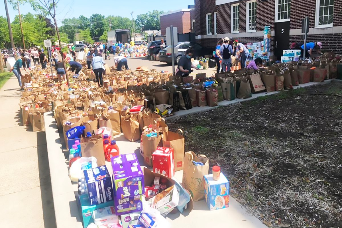 Minneapolis Sandford School donations