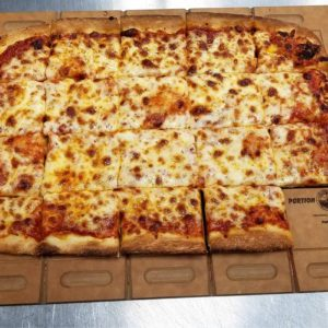 This Serving Tray Prevents Person-to-Person Contact When Sharing a Pizza