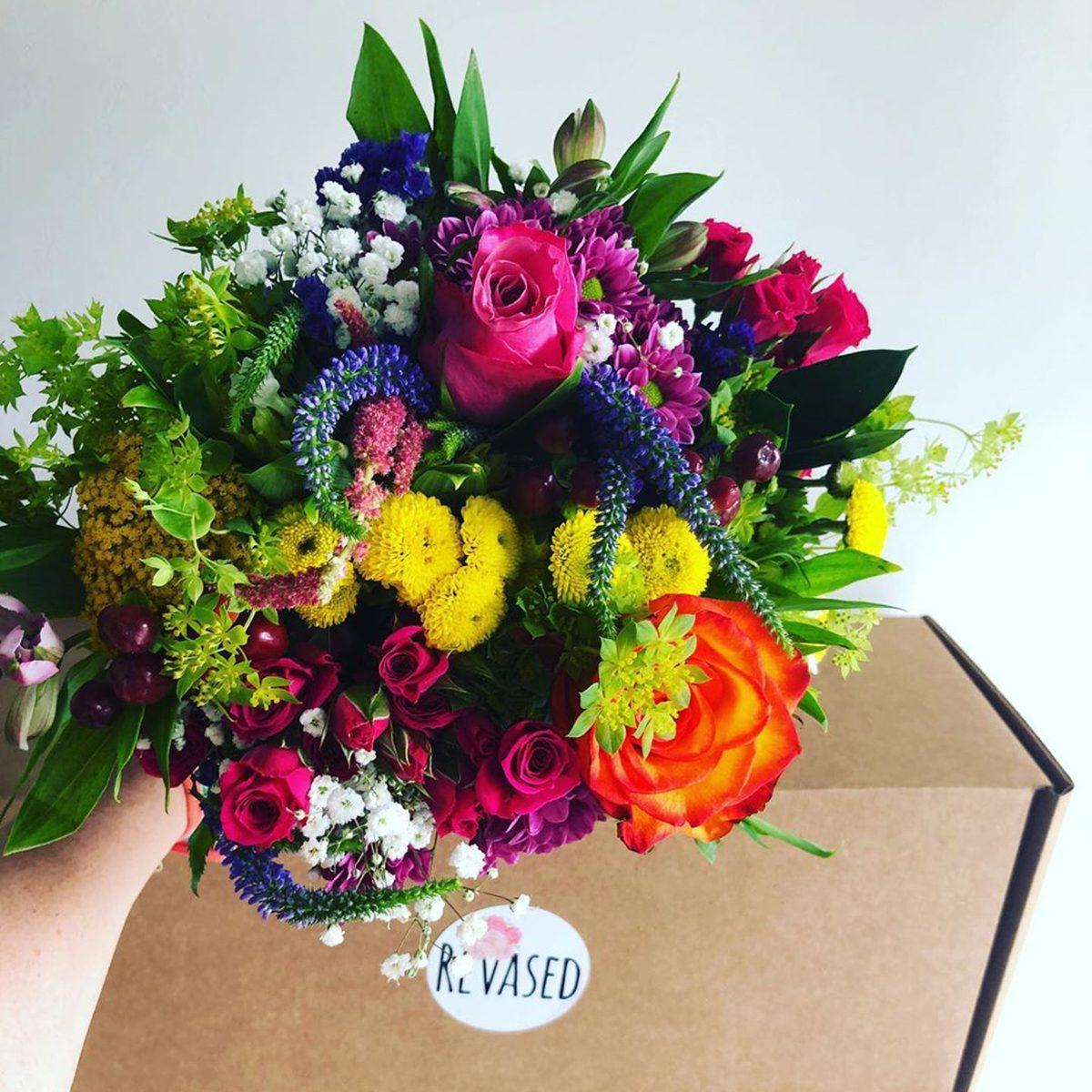 Revased bouquet