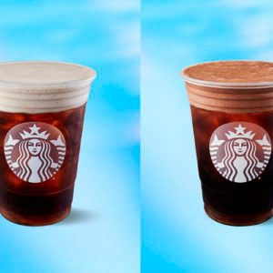Starbucks Just Dropped New Cold Brew Drinks Loaded with Almond Milk Foam