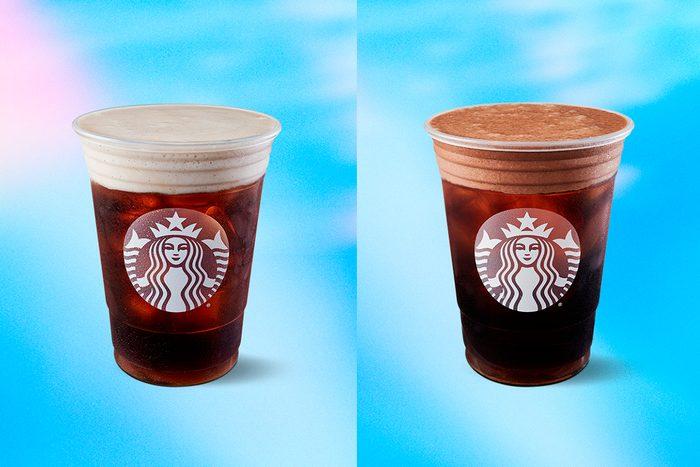 Starbucks two new drinks