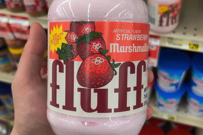 Strawberry Marshmallow fluff