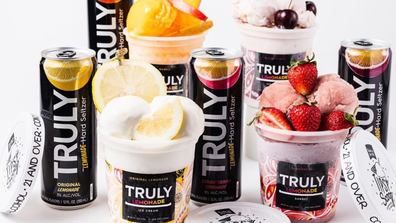 Truly boozy ice cream from Tipsy Scoop