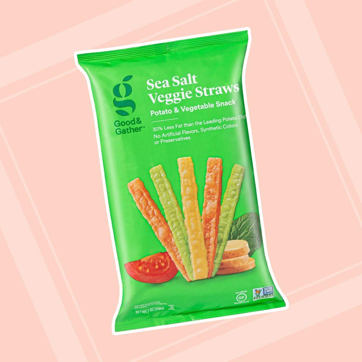 Sea Salt Veggie Straws - 7oz - Good & Gather™