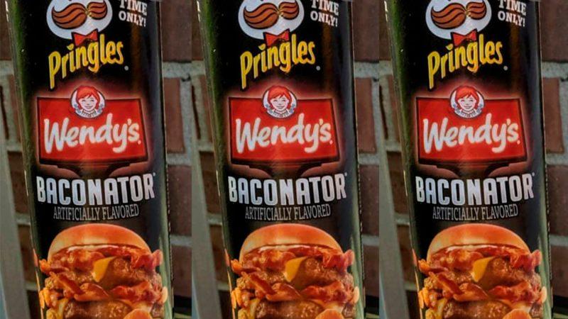Wendy's Baconator Pringles