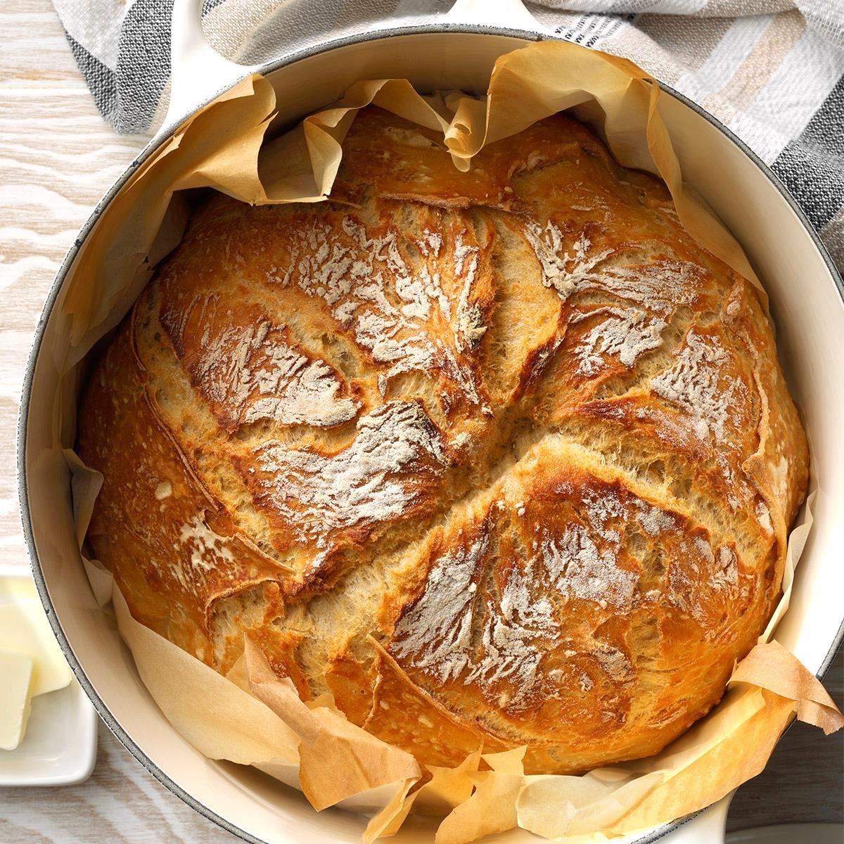 Vegan Dutch-Oven Bread