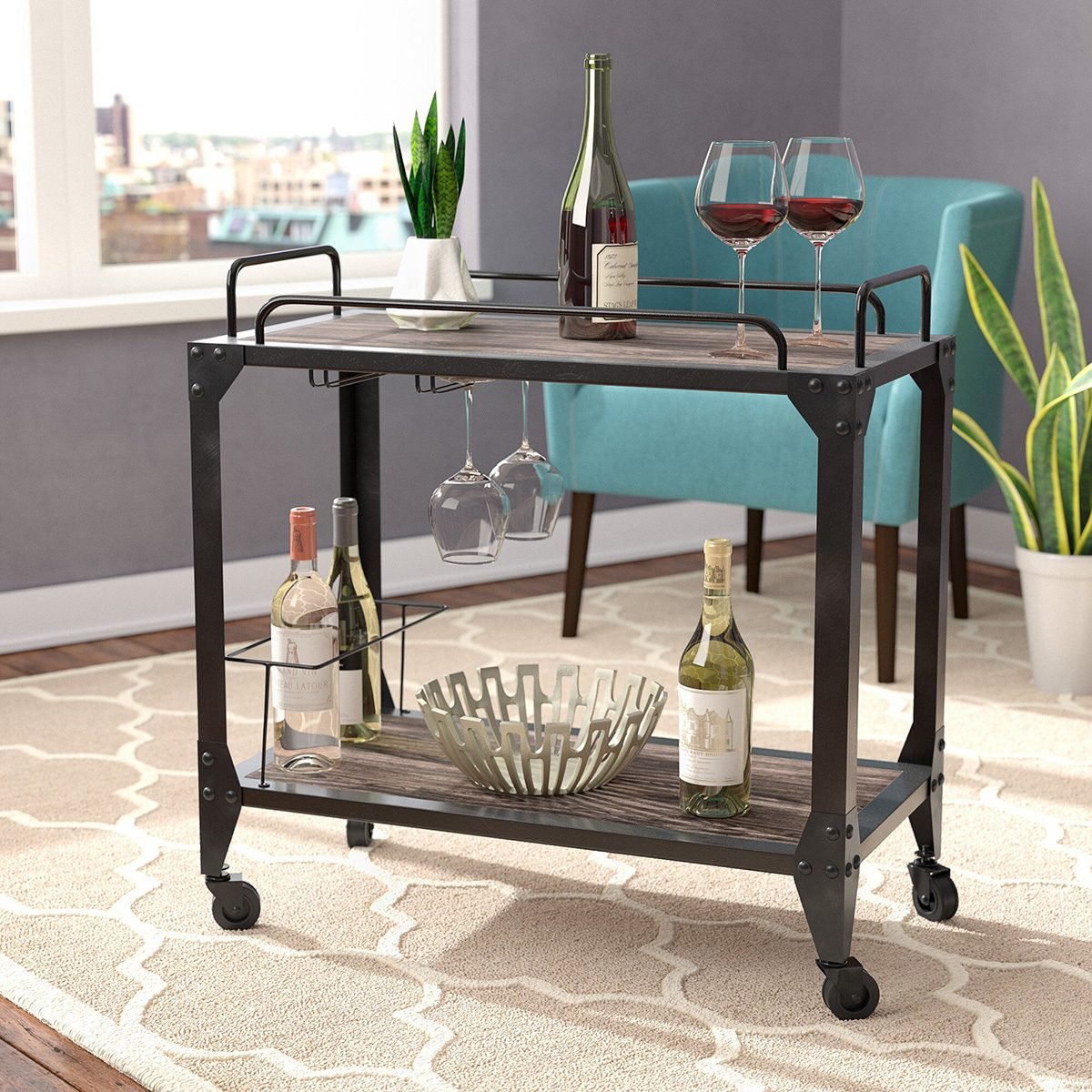 The Perfect Bar Cart For Every Style I Taste Of Home
