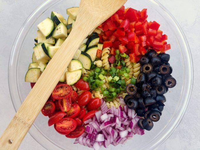 how to make vegan pasta salad Quick Easy Vegan Pasta Salad
