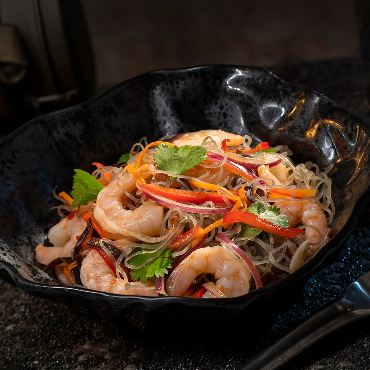 Surabat Shrimp & Noodle Salad from Docking Bay 7 Food and Cargo inside Star Wars: Galaxy's Edge