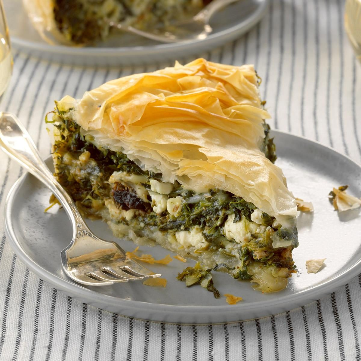2nd Place: Weeknight Skillet Spinach Pie